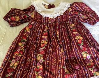 Vintage Ruth of Carolina Floral Dress