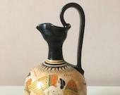 White Ground Ancient Greek Amphora 20cm (7.9 quot )