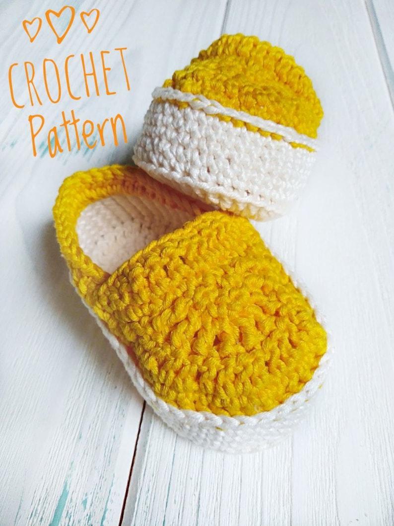 0b1b523ce Crochet pattern baby slip on sneakers booties vans style