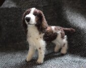 Needle felted springer sp...