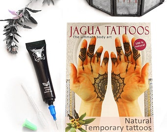 d962d084f 10ml Jagua Temporary Tattoo Gel with Full colour Instructions