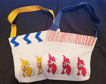 Small Rabbit Tote Bag
