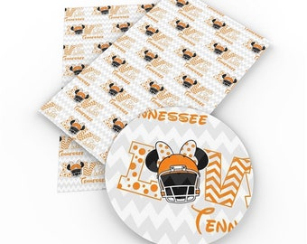 Tennessee Vols Bottlecap Hairbow