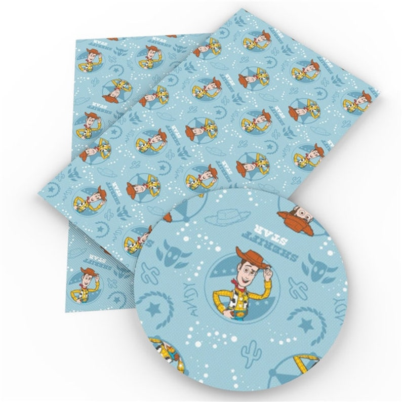 Toy Story Printed Leather Sheets. 1069003 Toy Story Print Toy Story/'s favorite sheriff Toy Story Leather Pattern Sheriff Woody