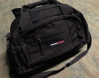 0cd8cea3ee4 Vintage 90s Tommy Hilfiger Duffel Bag