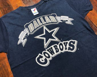 bd97f7290 Vintage 90s Dallas Cowboys T-Shirt size L