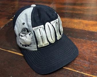 360ae26d2f6 Vintage 90s Georgetown Hoyas Cap ADJ