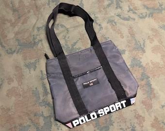 3ad26b0c5b Vintage 90s Polo Sport ralph lauren Tote Bag