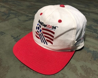 861d7887226 Vintage 1994 World Cup USA Cap ADJ