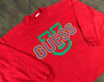72d64ea4091b Vintage 1990 Guess Jeans USA Sweater size S