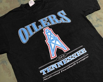 Vintage 1998 Tennessee Oilers T-Shirt size XL bad57bc96