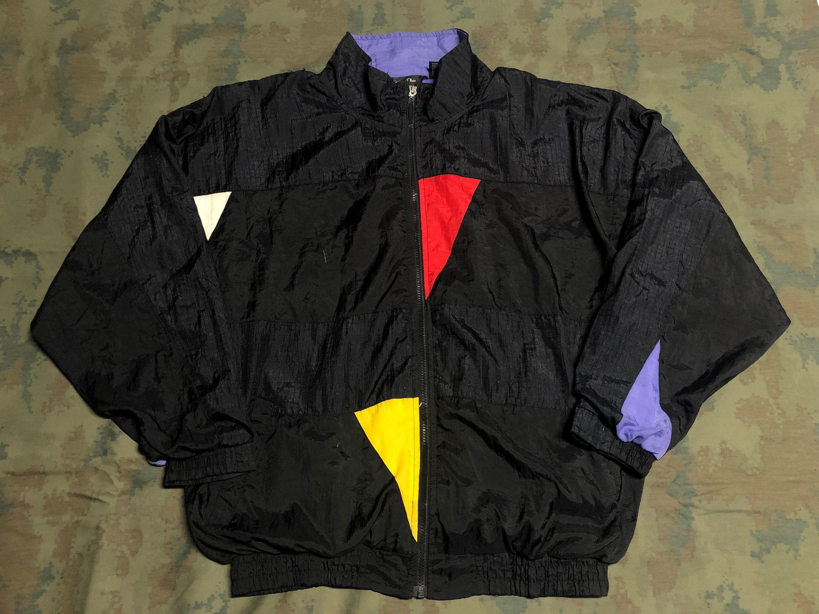 f1ad7d30e20d 90 Vintage taille Christian Dior veste taille Vintage XL 14fdcd ...