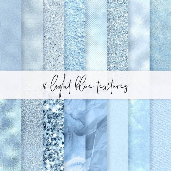 16 Light Blue Baby Shower Patterns Printable Blue Foil Paper Etsy