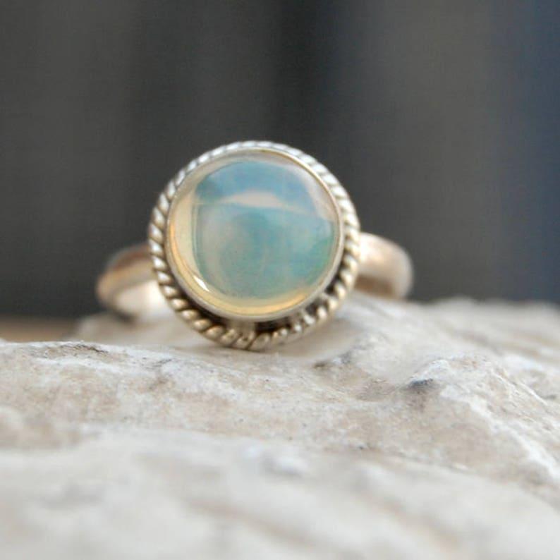 Natural Turquoise Ring \u2022 Natural Handmade Crystal Ring \u2022 Sterling 925 Silver \u2022 Boho Ring \u2022 Natural Gemstone Ring \u2022 Adjustable Ring
