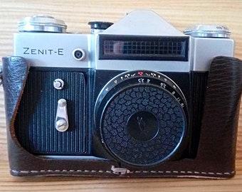 fallout Camera Zenit-E  From USSR Soviet Vintage Industar-50-2