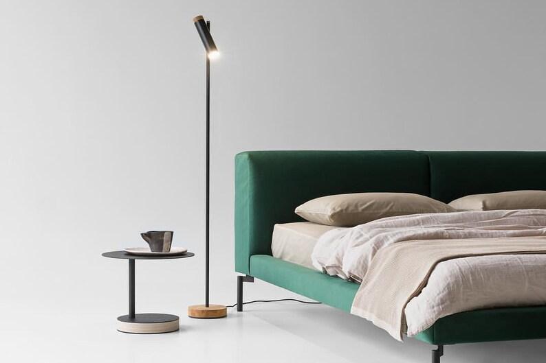 Modern floor lamp for living room Industrial light for bedroom Bedside  lamps Man cave designer lighting