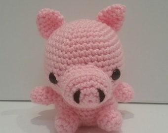 Little Piggie, Amigurumi Crochet Bunny