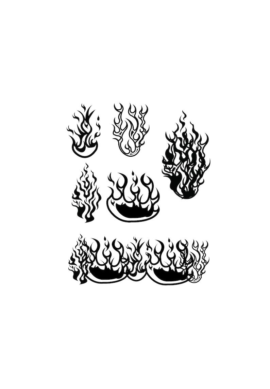 Fire SVG Files, Fire Clipart, Fire Dxf Files, Flames Cricut Files, Flames  Silhouette, Cut file, Fire Png, Fire Cut Files, SVG, Dxf, Png, Eps