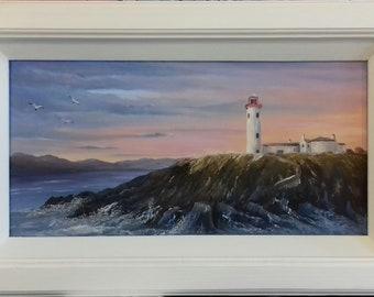 Irish lighthouse,