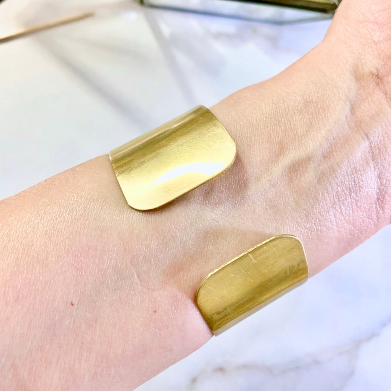 jeweled Agate Geode crystal bracelet adjustable brass cuff Bohemian bracelet cuff gift for women