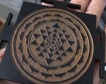 Geometric Mandala Pendant by Kahun Papyri jewelry