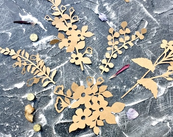 Wild Flower cut-outs