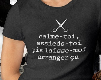 Relax, sit udder let me fix it - round neck T-Shirt