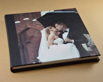 Customized Wedding Albums/10X12 Leather Photo cover wedding album 20 pages - Lucca