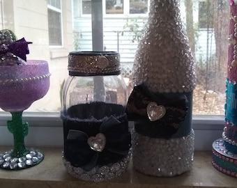 Bling bottles