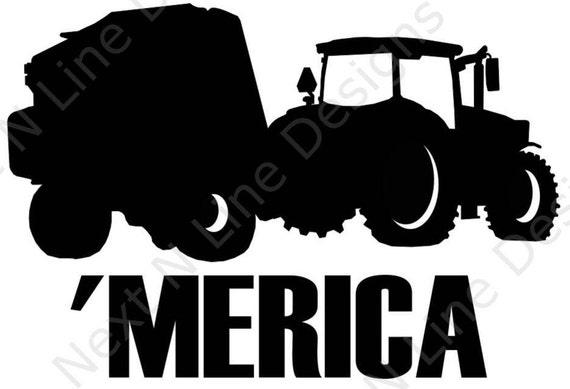 Tractor Vintage Farm Equipment Agricultural Car Truck Window Vinyl Decal Sticker