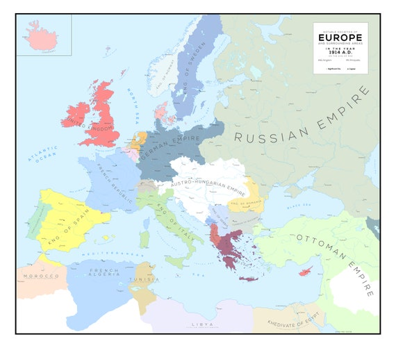 Map of Europe in 1914  Map Of Europe on map of ancient middle east, map of european countries, map of great britain, map of native american tribes in 1700s, map of eruope, map of england, map of italy, map of austro-hungarian empire before 1910, map of continents, map of hungary before wwi, map of asia, map of australia, map of napoleon's empire, map of africa, map of germany, map from europe, map of austria hungary 1850, map of east prussia in 1937,