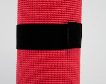 Yoga Mat Strap - Elastic - Hook and Loop