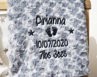 NEW BABY GIFT//PRESENT ANY NAME//EDGE COLOUR ROTWEILER PERSONALISED BABY BIB
