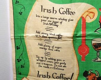 Irish coffee recipe | Etsy