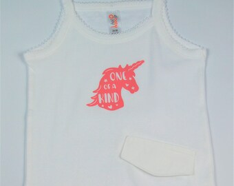 "2T/3T ""One of A Kind"" G Tube Bodysuit"