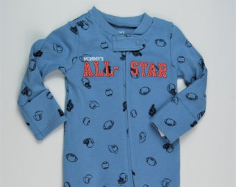 Mommy's All-Star G Tube Sleeper, Size 9 Months, Adapted to Order