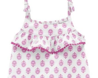 Flower G Tube Playsuit/Romper/Bubble, Adapted to Order