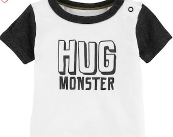 Hug Monster Double Layer G-Tube Bodysuit, Adapted to Order