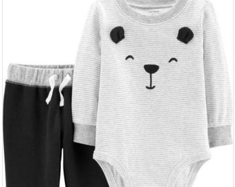 Bear G-Tube Bodysuit & Pants, Adapted to Order