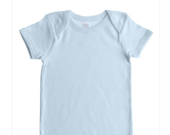 Light Blue G Tube Bodysuit, Adapted to Order