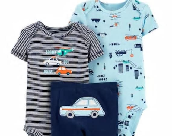 Car G-Tube Bodysuits & Pants, Adapted to Order