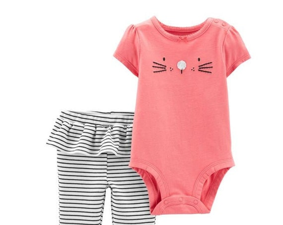 Bunny G-Tube Bodysuit & Pants, Adapted to Order