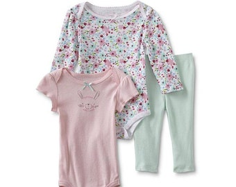 Bunny G Tube Bodysuits x2 with Pants, Adapted to Order