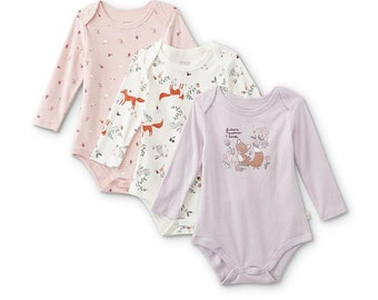 Fox and Friends G Tube Bodysuits (3), Made to Order