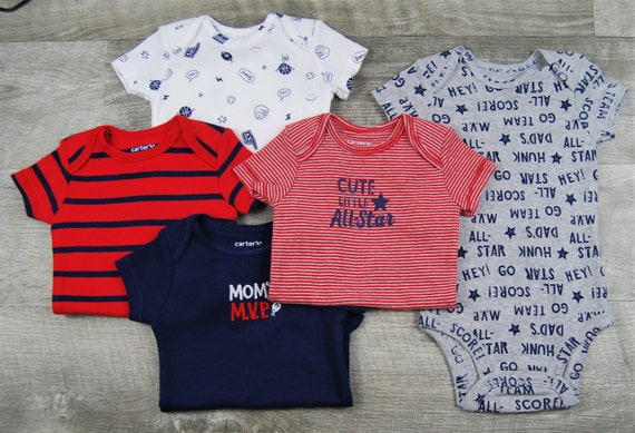 "5 Pack of ""Mom's VIP"" G Tube Bodysuits, Adapted to Order"