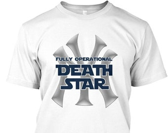 Yankees Fully Operational Death Star T-Shirt 40cea4bc8f9