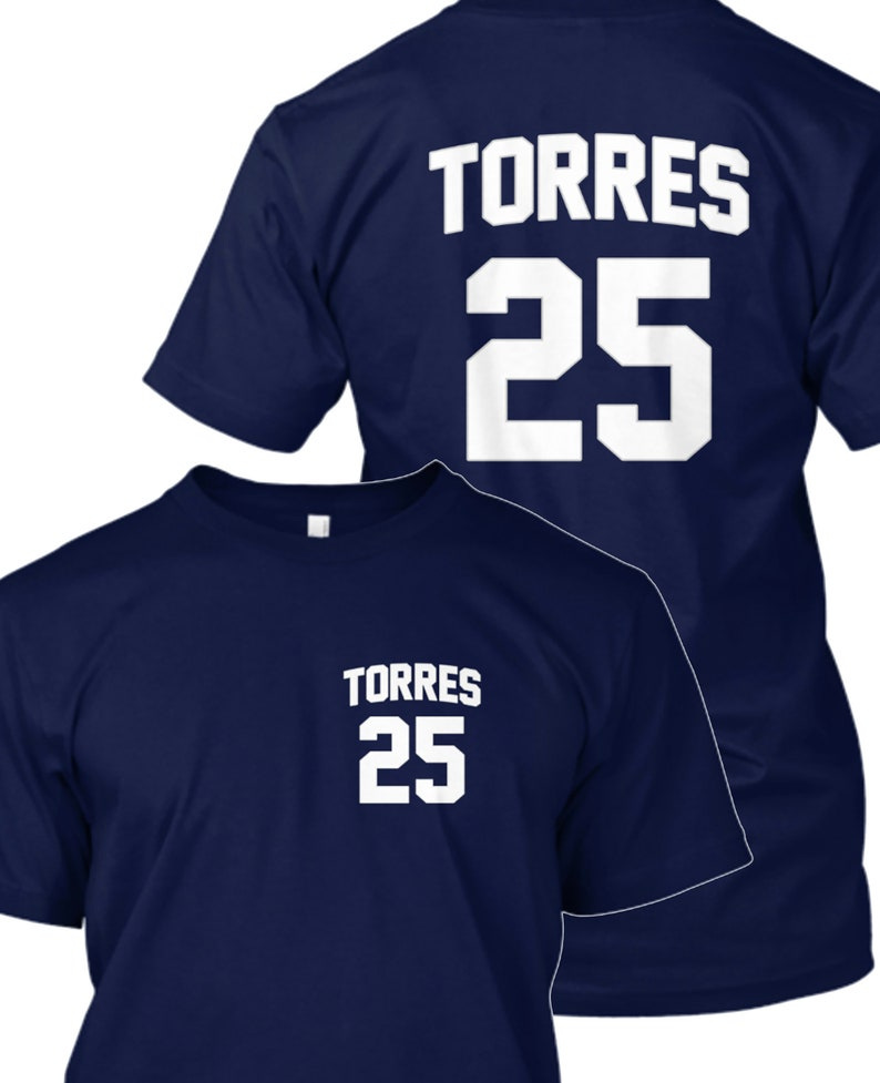 brand new a7240 3b506 Yankees Shirt - Gleyber Torres T-Shirt - Gleyber Torres Yankees Shirt -  Yankees Jersey
