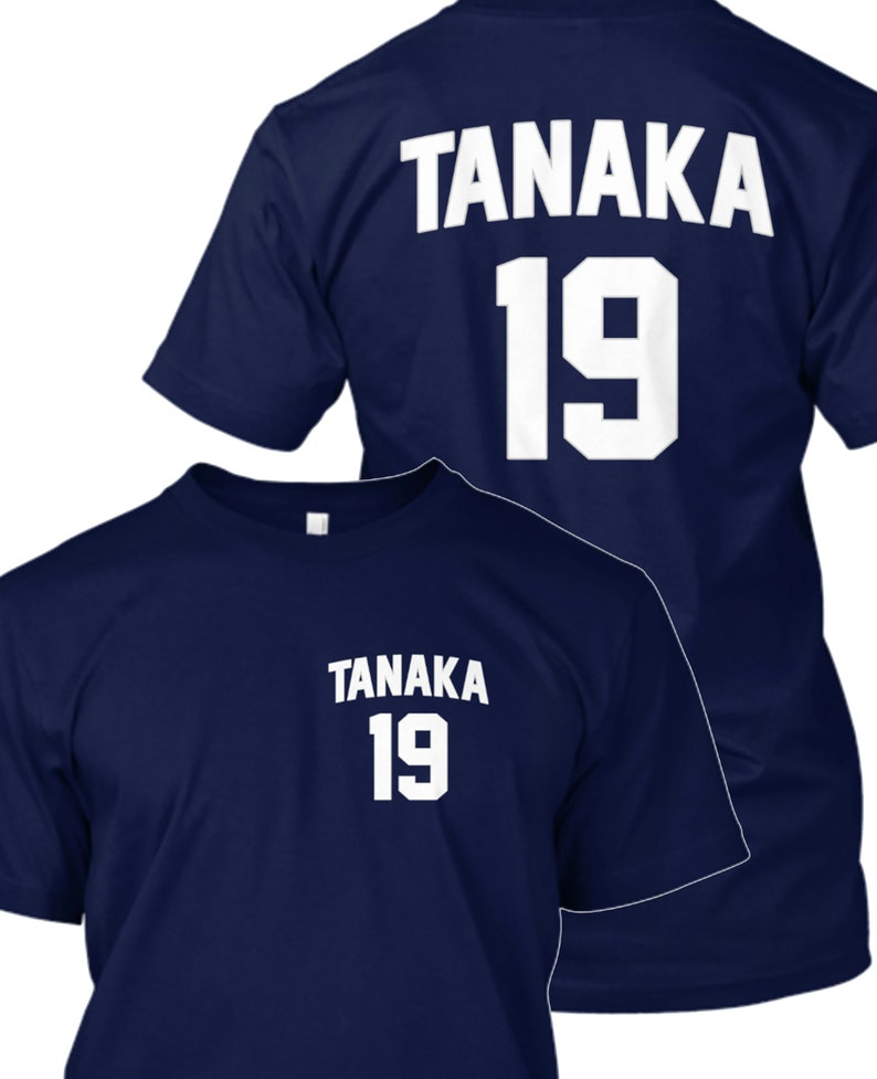premium selection 45dca fe707 Masahiro Tanaka Shirt - Yankees Shirt - Masahiro Tanaka - New York Yankees
