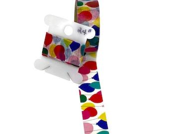 Balloons Washi Tape  Sample  Item #WT283