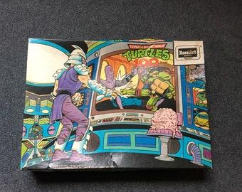 Vintage Teenage Mutant Ninja Turtles puzzle